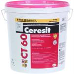 Штукатурка декоративная Ceresit СТ 60 акриловая камешковая зерно 1.5 база 25 кг