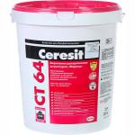 Штукатурка декоративная Ceresit СТ 64 акриловая короед зерно 2.0 мм база 25 кг