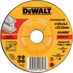 Круг обдирочный по металлу Dewalt Industrial 125x6.3 мм тип 27 DT42320Z-Q