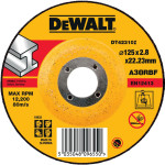 Круг отрезной по металлу Dewalt Industrial 125x22.2x2.8 мм тип 1 DT42310Z-Q