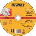 Круг отрезной по металлу Dewalt Industrial 230x22.2x2.8 мм тип 1 DT42601Z-Q
