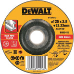 Круг отрезной по металлу Dewalt 125х22.2х3 мм тип 42 DT43911-QZ