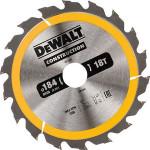 Пильный диск по дереву с гвоздями Dewalt Construction 190х30 мм 24 зуба DT1944-QZ