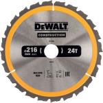 Пильный диск по дереву с гвоздями Dewalt Construction 216x30 мм 40 зубов DT1953-QZ