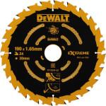 Пильный диск по дереву Dewalt Extreme 184х16 мм 24 зуба DT10302-QZ