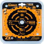Пильный диск по дереву Dewalt Extreme 165x20 мм 40 зубов DT10301-QZ