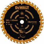 Пильный диск по дереву Dewalt Extreme 184x16 мм 40 зубов DT10303-QZ