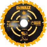 Пильный диск по дереву Dewalt Extreme 190x30 мм 24 зуба DT10304-QZ