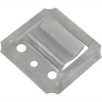 Крепеж для вагонки Rock Solid №1 с оцинкованными гвоздями, 100 шт. 0.15 кг