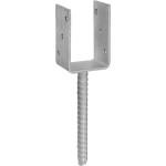 Анкерное основание столба Rock Solid Connection RPS 140U 141х120х4 мм