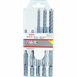 Набор буров SDS-Plus-5X Bosch 5/6/6/8/10x110x160 мм, 5 шт. 2608833910