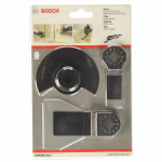 Базовый набор по дереву Bosch для многофункциональных инструментов, 3 шт. 2608662343