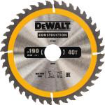 Диск пильный Dewalt по дереву 190x30 мм 40 зубьев DT1945-QZ