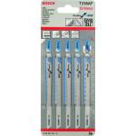 Пилка для лобзика Bosch T 318 AF Flexible for Metal, 5 шт. 2608634241