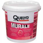 Клей для текстильных и ПВХ покрытий QUELYD MURALE готовый ведро 10 кг