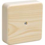 Коробка распаячная для открытой проводки IEK КМ41219 6 клемм 6 мм2 белая 100х100х29 мм