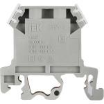 Зажим наборный IEK ЗНИ JXB35А 600 В 35 А 2 провода 0.2-6 мм2 серый