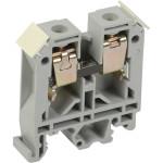 Зажим наборный IEK ЗНИ JXB50А 600 В 50 А 2 провода 0.5-10 мм2 серый