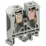 Зажим наборный IEK ЗНИ JXB100 600 В 85 А 2 провода 2.5-25 мм2 серый