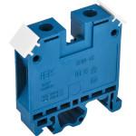 Зажим наборный IEK ЗНИ JXB100 600 В 85 А 2 провода 2.5-25 мм2 синий
