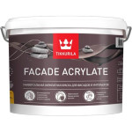 Краска фасадная Tikkurila Facade Acrylate глубоко-матовая база C 9 л