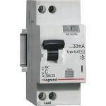 Дифференциальный автомат Legrand RX3 30мА 16А 1П+Н AC 419399