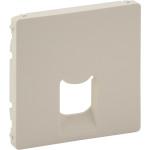 Лицевая панель Legrand Valena Life для одиночной телефонной-интернет розетки (RJ11/RJ45) слоновая кость