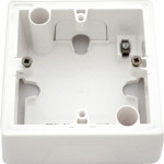 Установочная коробка Legrand для серии Valena 1 пост белая 776181