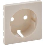 Лицевая панель Legrand Valena Life для розетки 2К+З слоновая кость