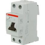 Выключатель дифференциальный УЗО ABB FH202 2Р 25 А 30 мА