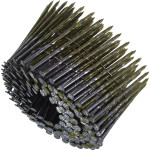 Гвозди строительные винтовые в обойме 2.5х68 мм оцинкованные, 200 шт.