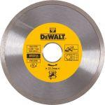 Диск алмазный сплошной по керамике Dewalt 125x22.2 мм DT3713-QZ