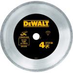 Диск алмазный сплошной по керамике Dewalt 230x22.2 мм h=7 мм DT3738-XJ