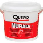 Клей для текстильных и ПВХ покрытий QUELYD MURALE готовый ведро 5 кг