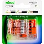 Клемма Wago Compact 450 В 32 А 5 проводов 0.14-4 мм2 оранжевый, 6 шт.
