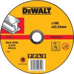 Круг отрезной по металлу Dewalt Industrial 180x22.2x1.6 мм