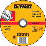 Круг отрезной по металлу Dewalt Industrial 180x22.2x2.8 мм
