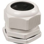 Сальник IEK PG 9 диаметр проводника 6-7 мм IP54 серый