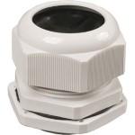 Сальник IEK PG 21 диаметр проводника 15-18 мм IP54 серый