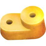 Угловой изолятор IEK для О шины желтый, 200 шт.