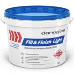 Шпатлевка DANOGIPS Fill&FinishLight 10 л