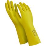 Перчатки Manipula Specialist Блеск латекс/хлопок размер 9 желтые