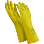 Перчатки Manipula Specialist Блеск латекс/хлопок размер 10 желтые
