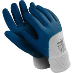Перчатки Manipula Specialist Техник Лайт РЧ нитрил размер 8 сине-белые