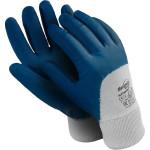 Перчатки Manipula Specialist Техник Лайт РЧ нитрил размер 10 сине-белые