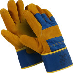 Перчатки Manipula Specialist Сталкер Про спилок размер 11 коричнево-синие
