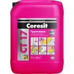 Грунт Ceresit CT 17 для впитывающих оснований 5 л