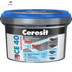 Затирка Сeresit CE-40 Aquastatic 2 кг Белая 01