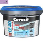 Затирка Сeresit CE-40 Aquastatic 2 кг лаванда 87