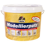 Штукатурка декоративная структурная Dufa Modellierputz 18 кг цвет белый